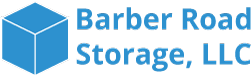logo artwork for barber road self storage