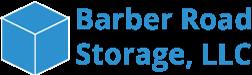 logo artwork for barber road self storage
