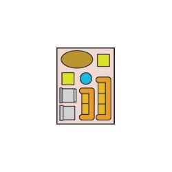 7.5' x 10' Storage Unit Graphic